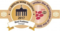 "DFJ VINHOS receive Trophy ""BEST PRODUCER PORTUGAL"" at Berliner Wein Trophy 2017"
