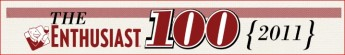 The Enthusiast 100 2011 logo