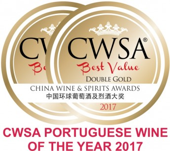 logo CWSA Portuguese wine of the year 2017.