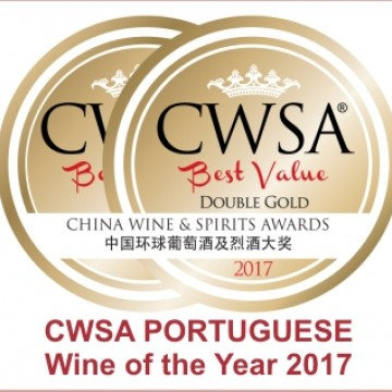 "ESCADA Reserva Douro selected ""PORTUGUESE Wine of the Year"" at CWSA 2017"