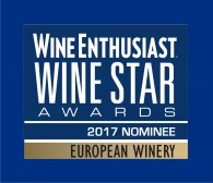 DFJ VINHOS nominee one of the TOP 5 European Wineries of 2017