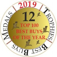TWELVE times in the Wine Enthusiast list of the TOP 100 BEST BUYS of the YEAR