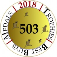 DFJ VINHOS wins 503 awards in 2018
