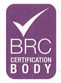 BRC Certification of the Quality 2013