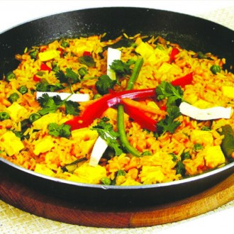 Paella of Tofu