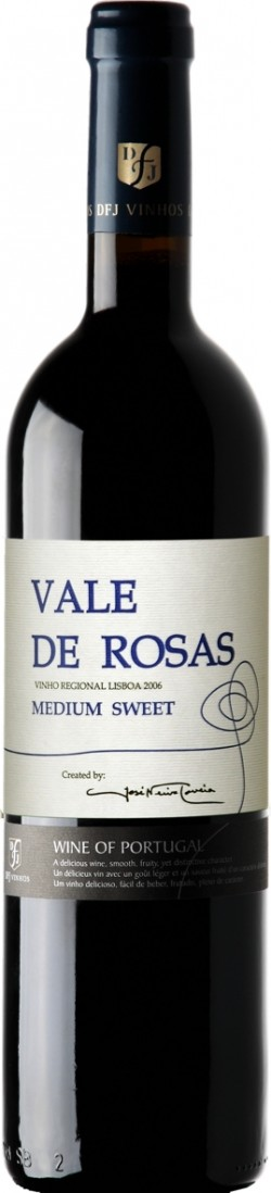 Vale de Rosas Medium Sweet Red 2006