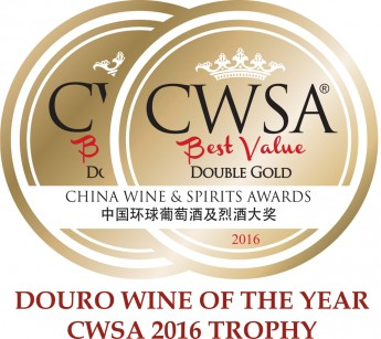 Douro wine of the year CWSA 2016 Trophy
